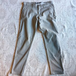 Zara Man Cream Pre-Loved Dress Pants